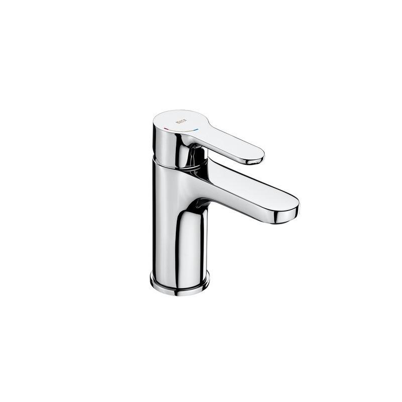 Mezclador para lavabo L20 ROCA con cuerpo liso,Cold Start,manecilla XL