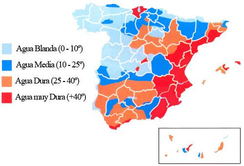 Descalcificadores Mapa Cal