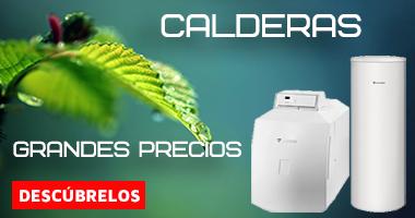 Comprar Calderas al mejor precio en nuestra Fontanería Online