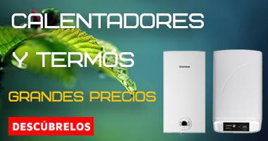 Comprar calentadores y termos eléctricos