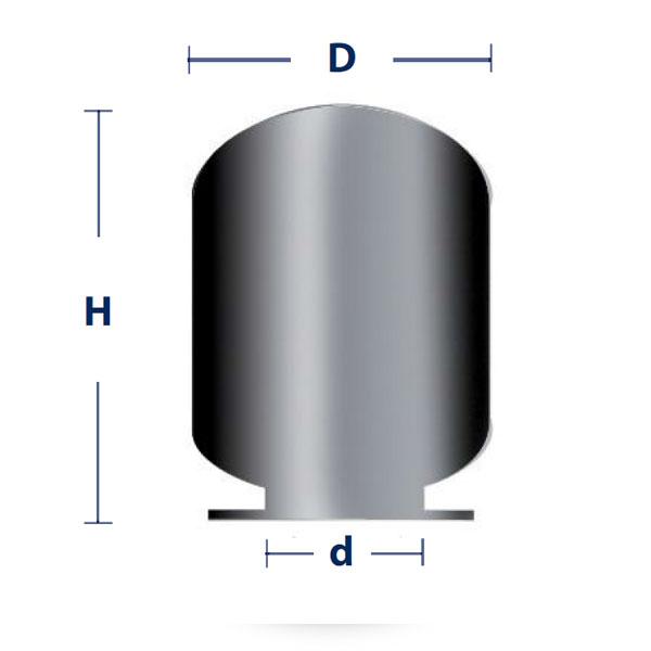 Dimensiones Membrana IBAIONDO AMR / AMR-INOX